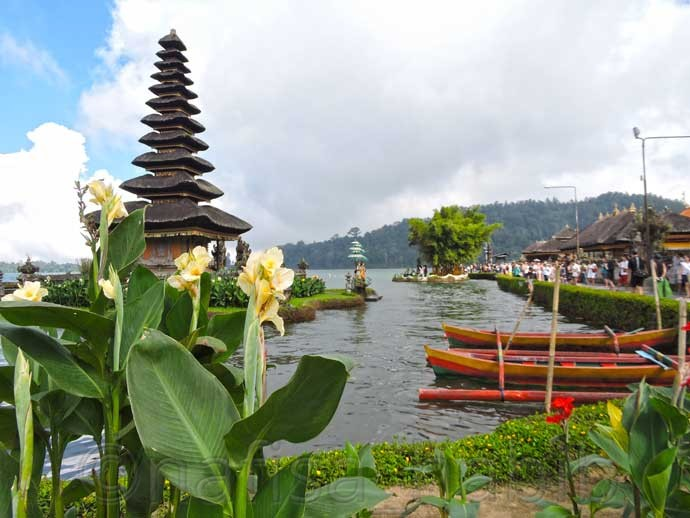 Pura Ulun Danu on Lake Beratan