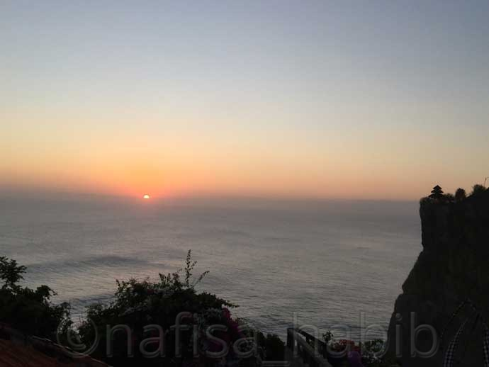 During Sunset - Uluwatu Temple