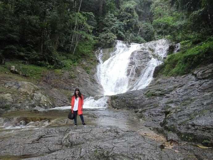 Lata Iskandar Waterfall Tapah