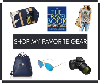 Shop My Favorite Travel Gear