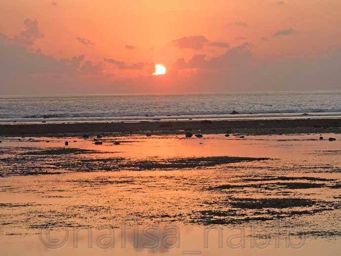 Beautiful Sunrise from Sindhu Beach