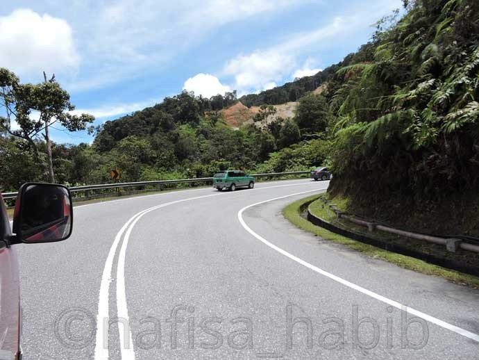 Tapah Route to Cameron Highlands