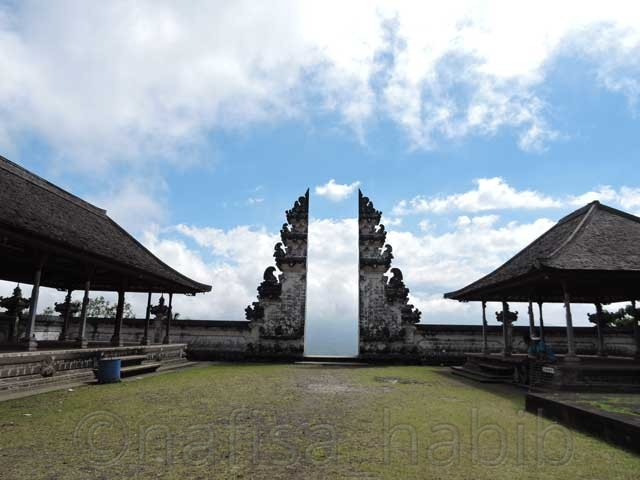Lempuyang Luhur Temple Gateway in Bali