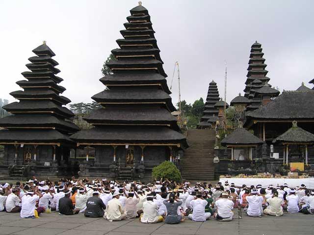 Pura Besakih Mother Temple in Bali