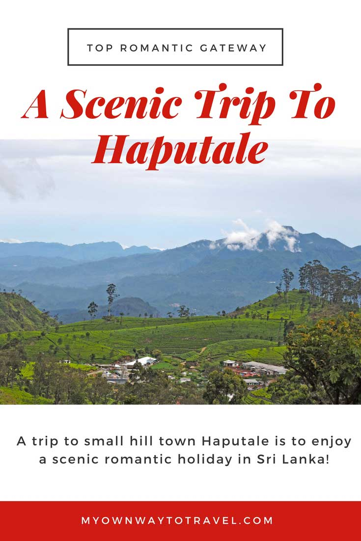 A Scenic Romantic Trip To Haputale in Sri Lanka
