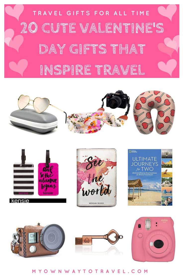 Cute Valentine's Day Gifts That Inspire Travel