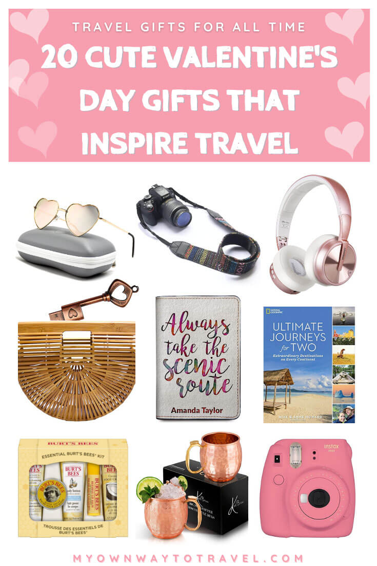 20 Valentine's Day Gifts That Inspire Travel