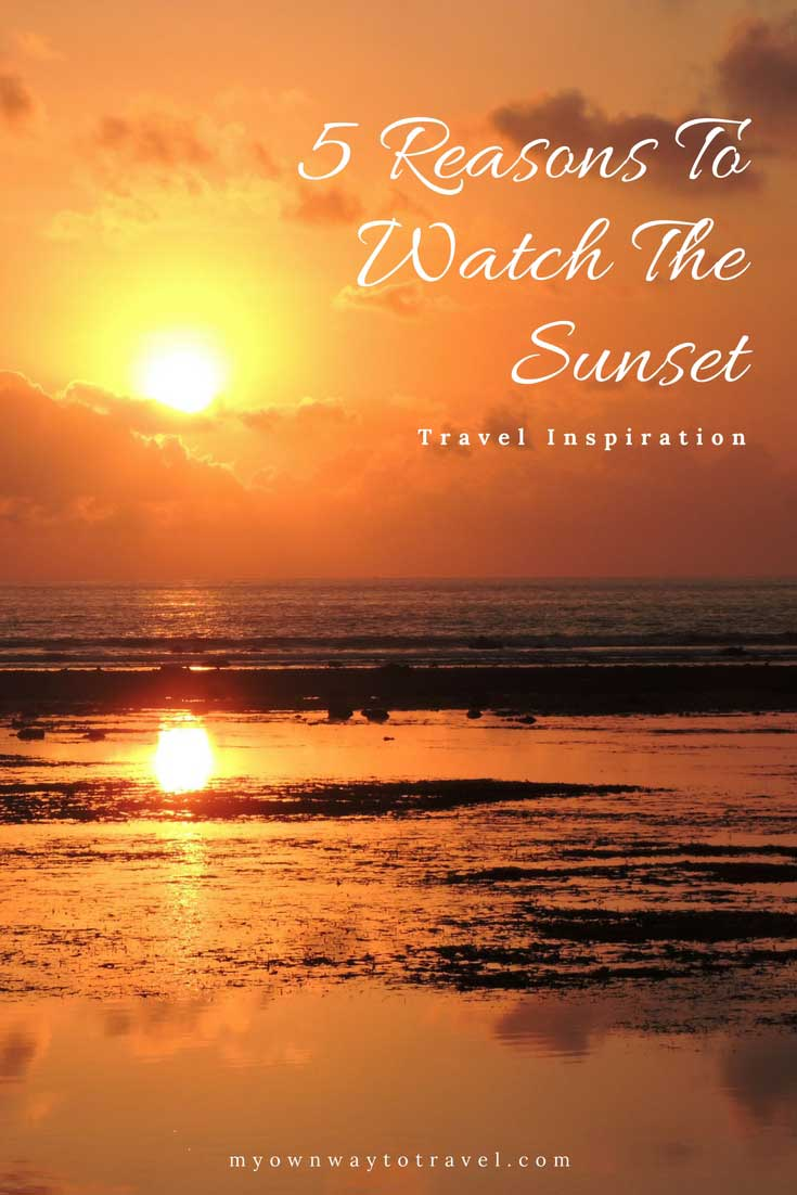 5 Reasons To Take Out Time To Watch The Sunset