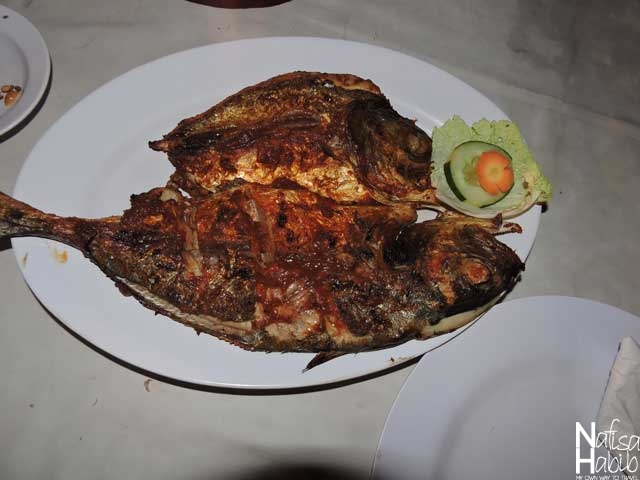Tasty Ikan Bakar Balinese Grilled Fish
