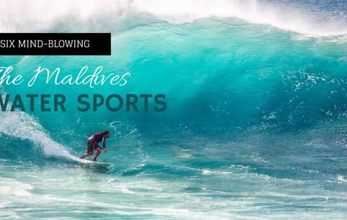 The Maldives Water Sports For Thrill Seekers