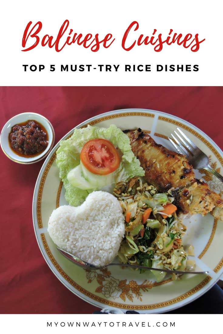 Top Balinese Cuisines Worth to Taste