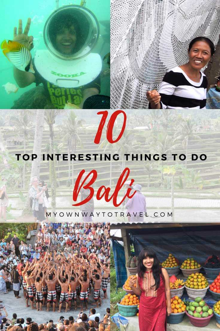 Top Interesting Things To Do in Bali