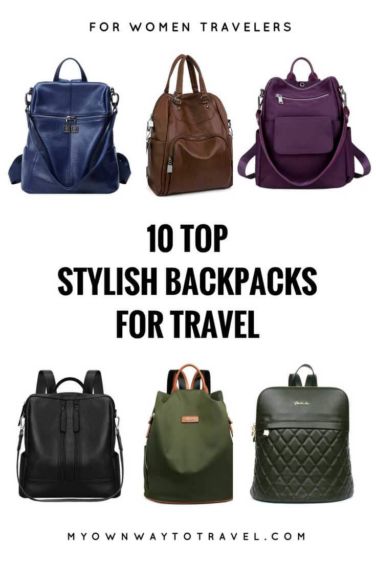 Top Stylish Backpacks For Travel