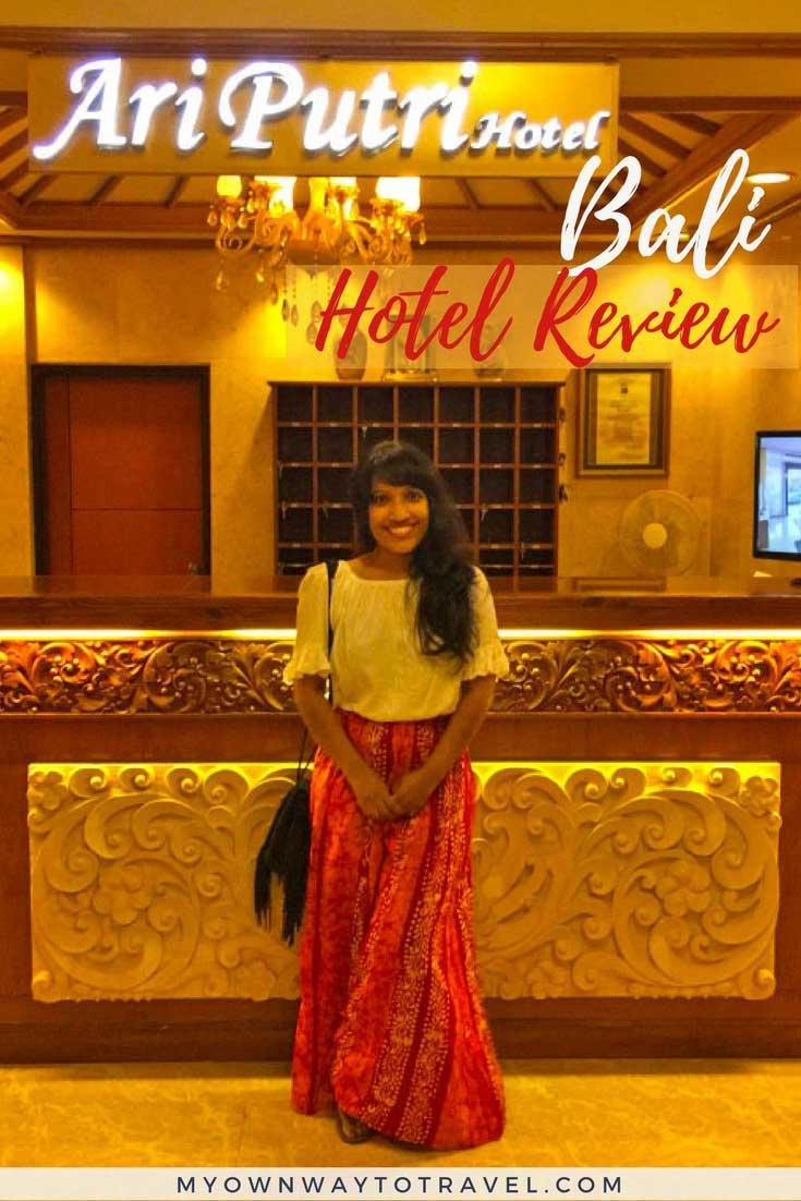 Ari Putri Hotel Review in Sanur, Bali
