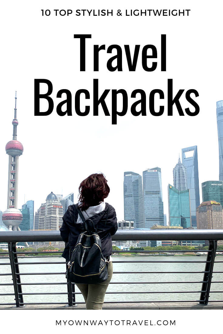 Top 10 Stylish Lightweight Travel Backpacks For Women