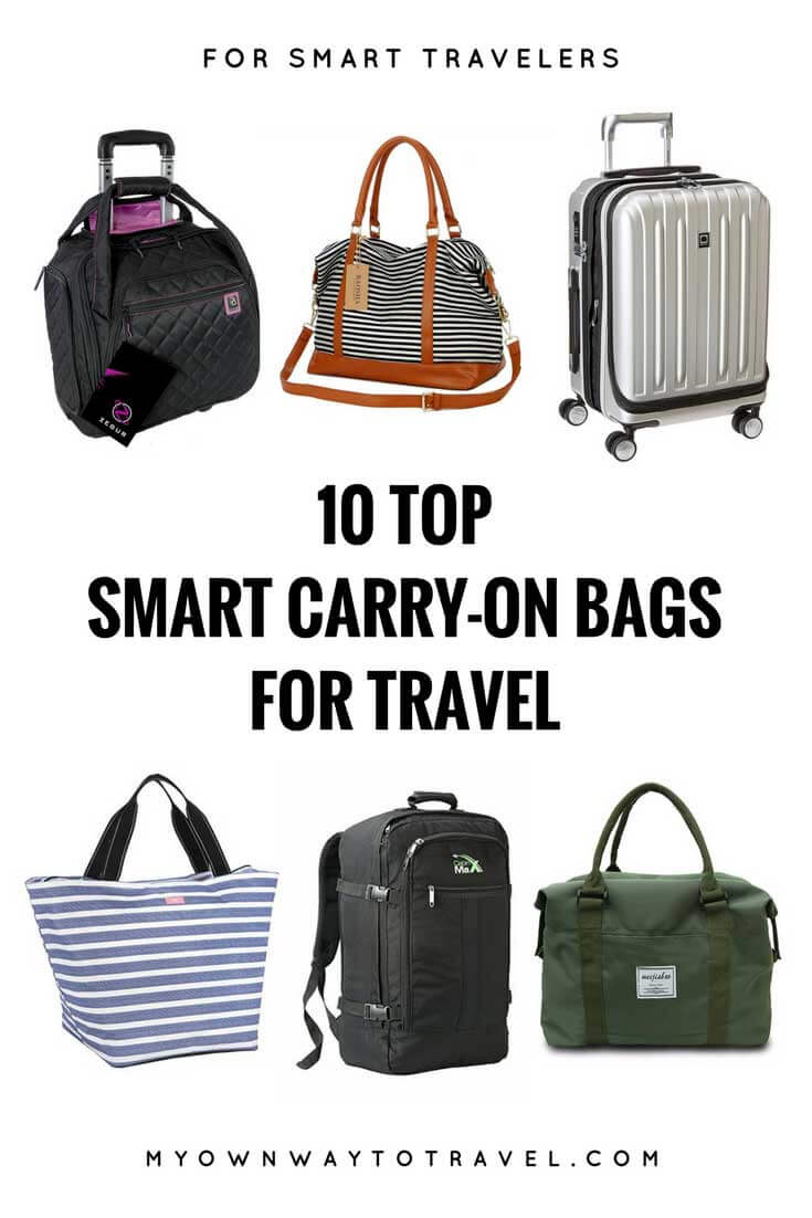 10 Top Smart Carry-On Bags for Travel