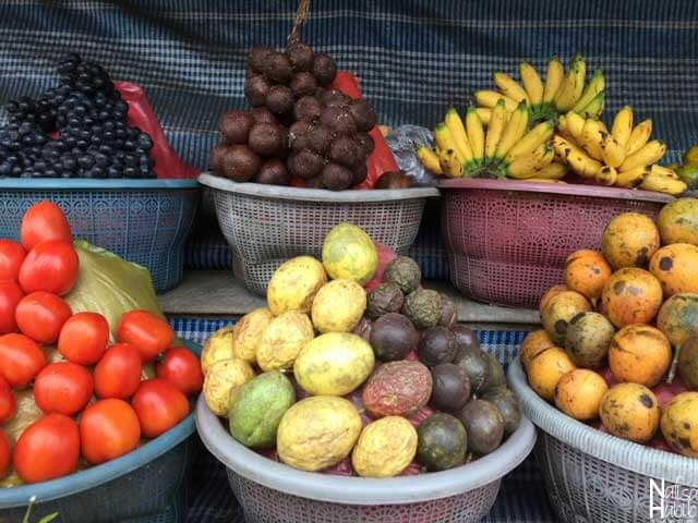 Delicious Fruits of Bali at Kintamani Village