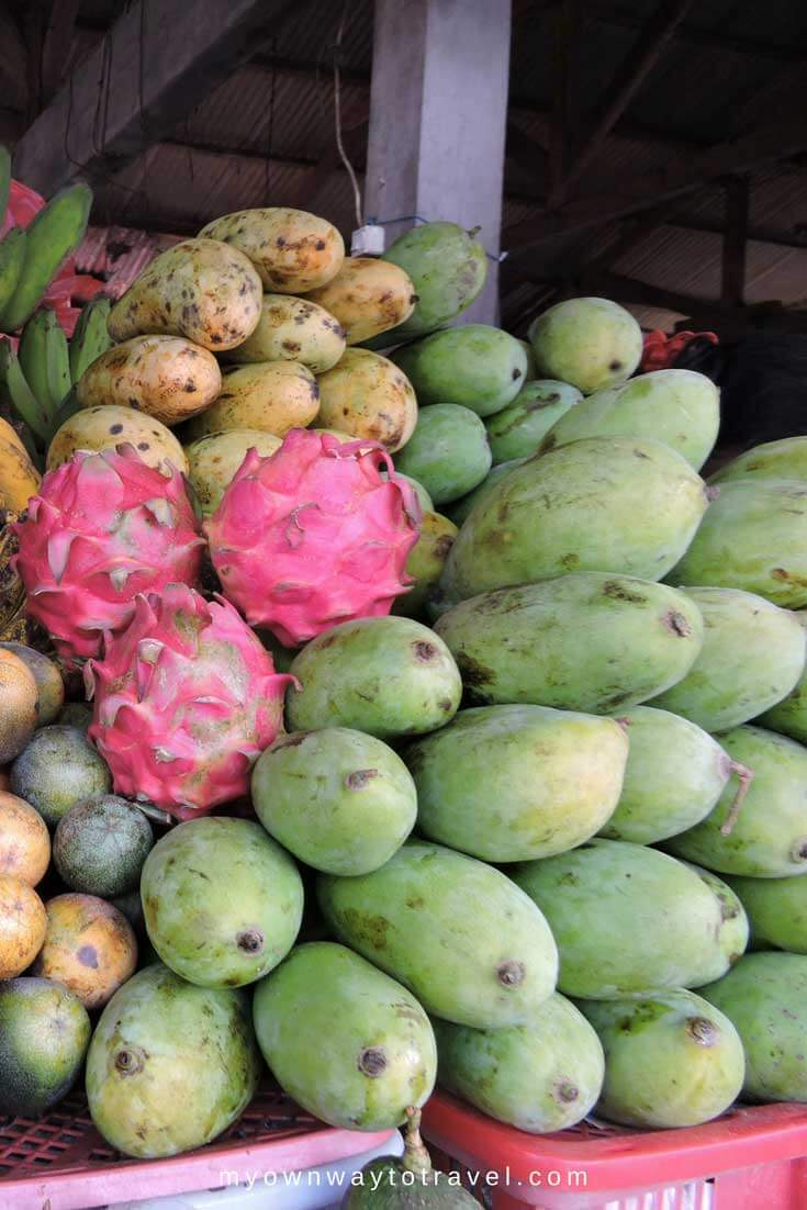 Mango or Mangga Harum Manis at Bedugul Market in Bali