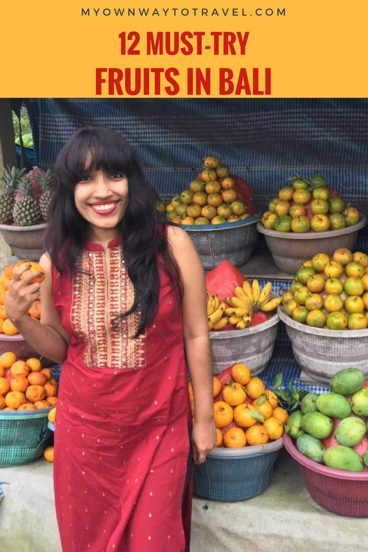 Top Must-Try Seasonal Balinese Fruits