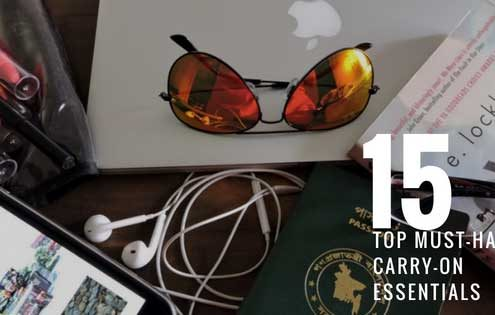 15 Top Must-Have Carry-On Essentials for Smart Travelers
