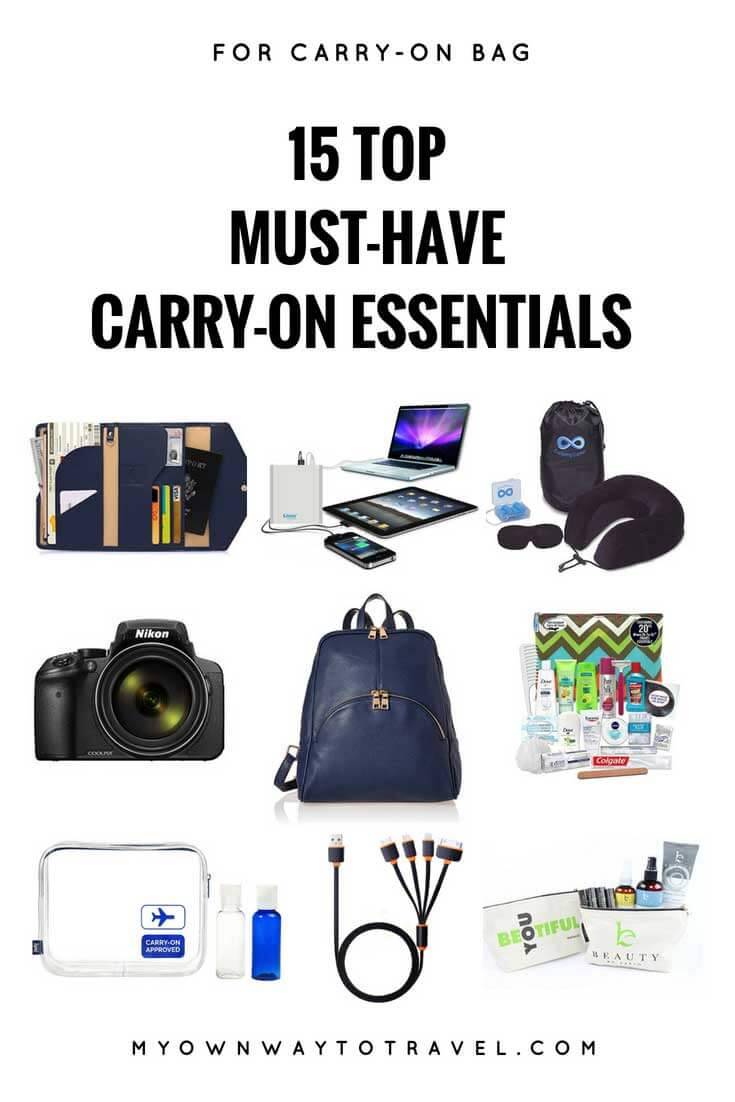 Top Must-Have Carry-On Essentials For Traveling