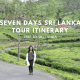 One Week Itinerary of Sri Lanka