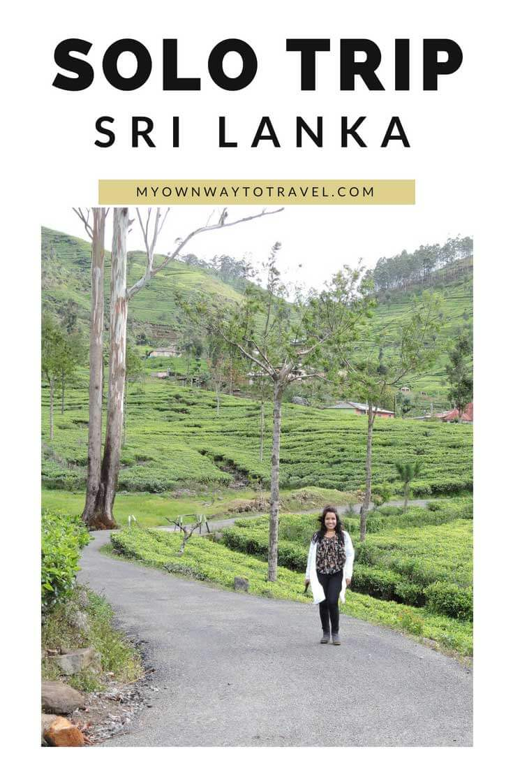 Solo Trip To Sri Lanka For One Week