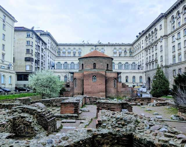 Best Places To Visit in Europe - St. George Rotunda in Sofia, Bulgaria
