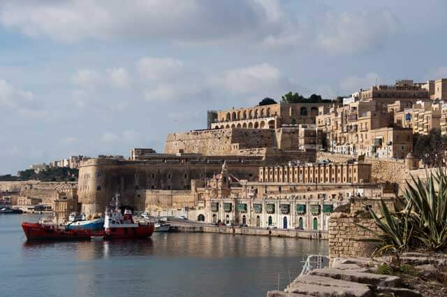 Budget-friendly Cities To Visit in Europe - Valletta Harbor in Malta