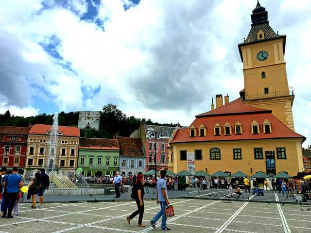 Europe on a Budget - Brasov in Romania