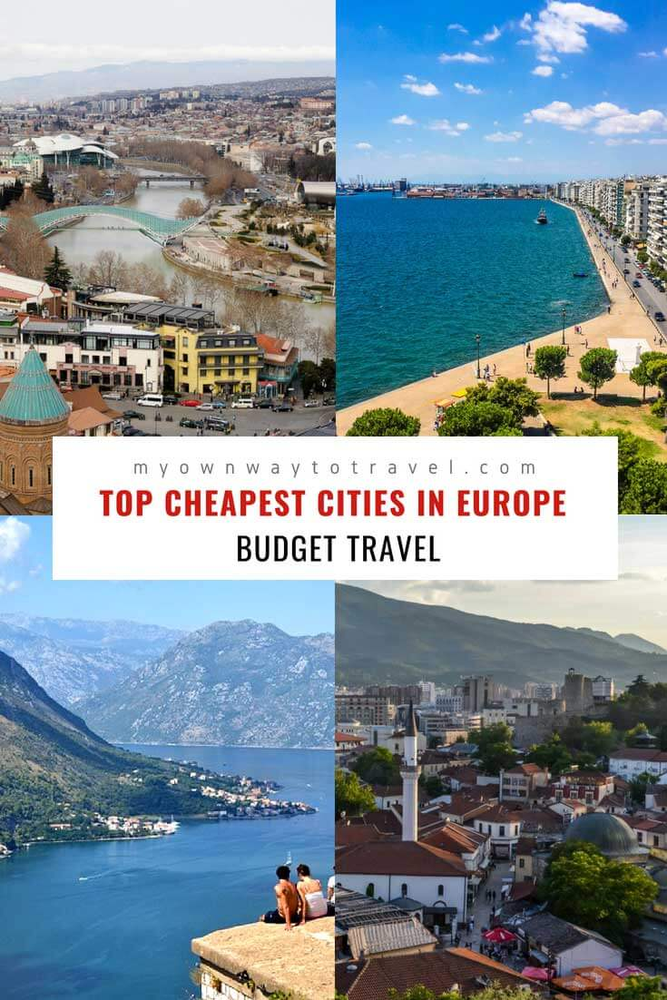 Budget-friendly Top Cheapest Cities To Visit in Europe