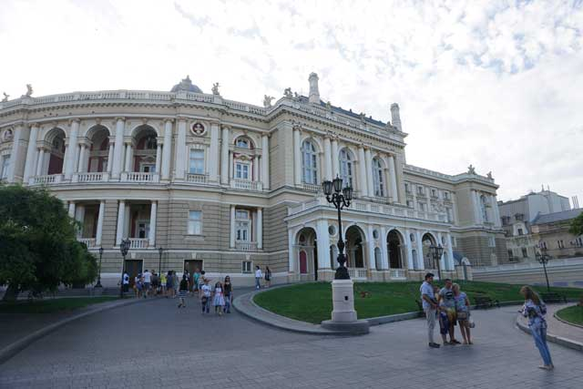 Cheapest Cities in Europe - Odessa in Ukraine