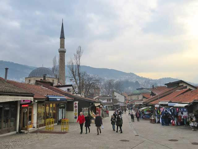 Cheapest Cities in Europe - Sarajevo in Bosnia and Herzegovina