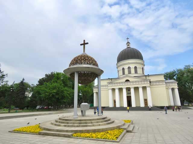 Moldova Points of Interest - Nativity Cathedral in Chisinau