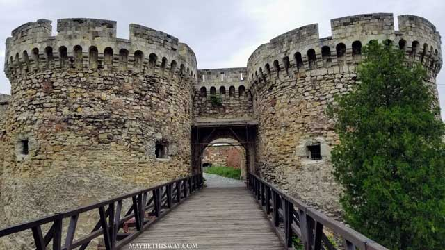 Sightseeing Attractions in Belgrade Europe - Serbia Fort