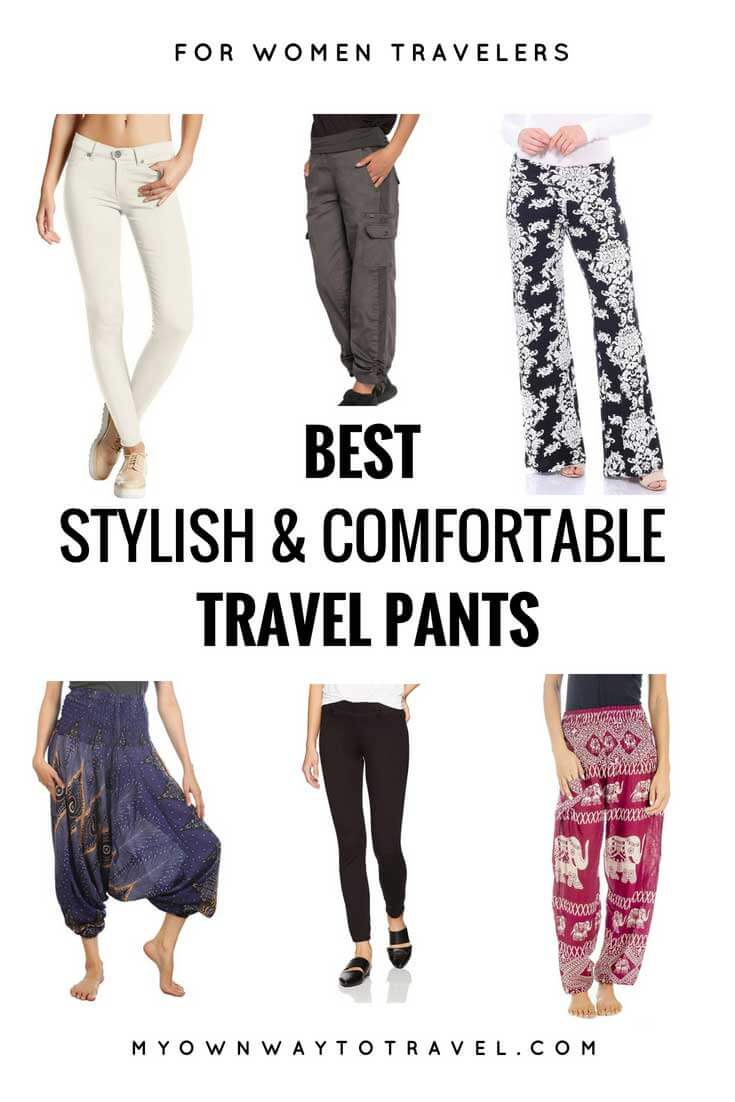 The Best Stylish and Comfortable Travel Pants For Women