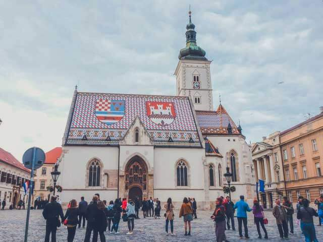 Cheapest Countries in Europe To Visit - Zagreb in Croatia