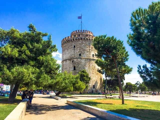 Top Tourist Attractions in Europe - White Tower of Thessaloniki in Greece