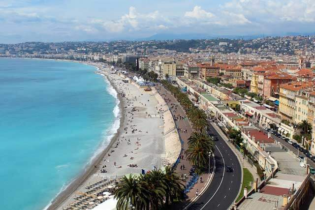 Beach Holidays in Europe - Nice in France