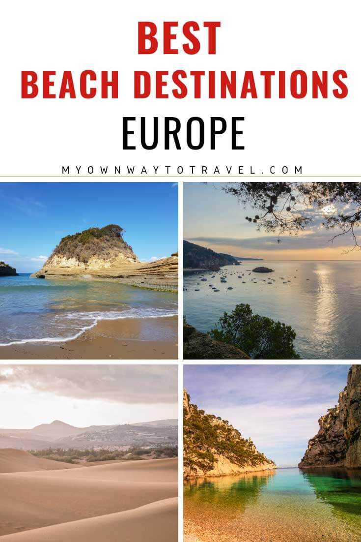 Best Beach Holiday Destinations in Europe