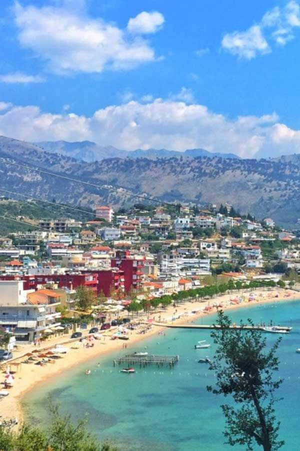 Affordable Beach Destinations - Himara in the Albanian Riviera of Albania