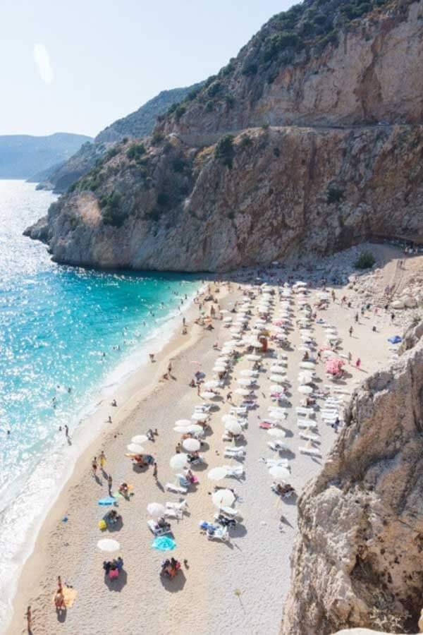Beach Holiday Destinations - Kaputas Plaji Beach in Antalya, Turkey