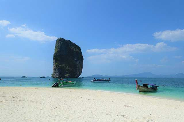 Best Beaches in Southeast Asia - Ko Poda Beach in the Ko Poda Island, Thailand