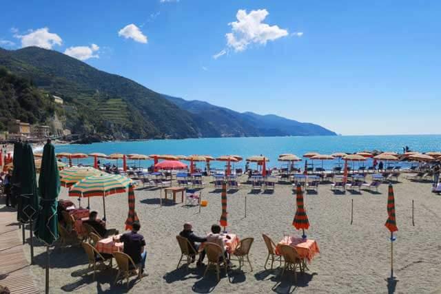 Best Beach Destinations in Europe - Monterosso al Mare in Cinque Terre, Italy