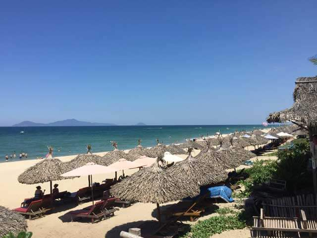 My Khe Beach in Da Nang Vietnam