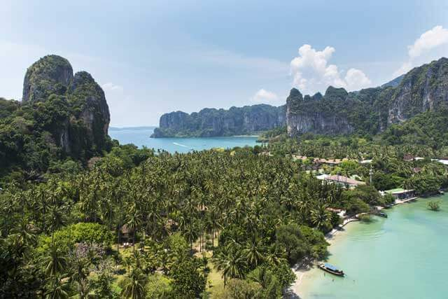 Best Beaches in Southeast Asia - Railay Beach in Krabi Thailand