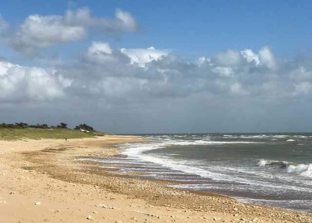 Sainte Marie de Ré Beach of Ile de Ré, France