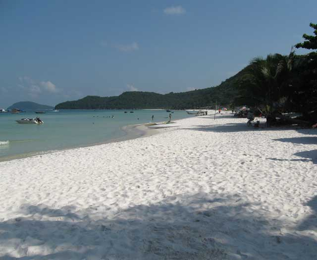 Southeast Asia Beaches - Sao Beach of Phu Quoc Island in Vietnam