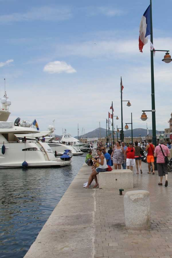 Luxury Beach Holidays in Europe - St Tropez Port in France