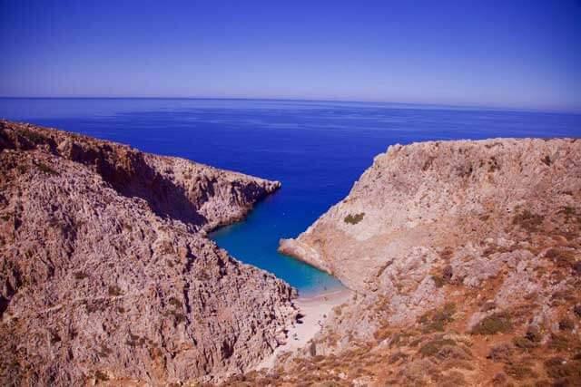 The Greek island of Crete - Stefanou Beach